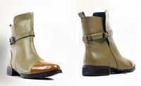 Женские ботинки toe ,