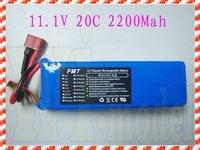 F00073 FMT 11.1V 2200mAh 20C RC LiPo Rechargable Battery For RC Heli