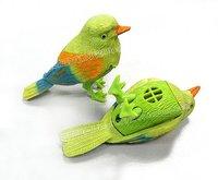 Детское электронное домашнее животное retail children gift, Lovely Bird, voice control bird, fantastic singing song bird al toys