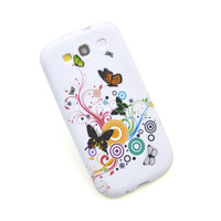Чехол для для мобильных телефонов New Rubber Silicone TPU Gel Flower Soft Case Cover For Samsung Galaxy S3 SIII i9300 UPS DHL EMS HKPAM CPAM SD-85