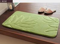 Коврик для ванной Bathroom absorbent mat doormat slip-resistant mats kitchen carpet 50*80cm