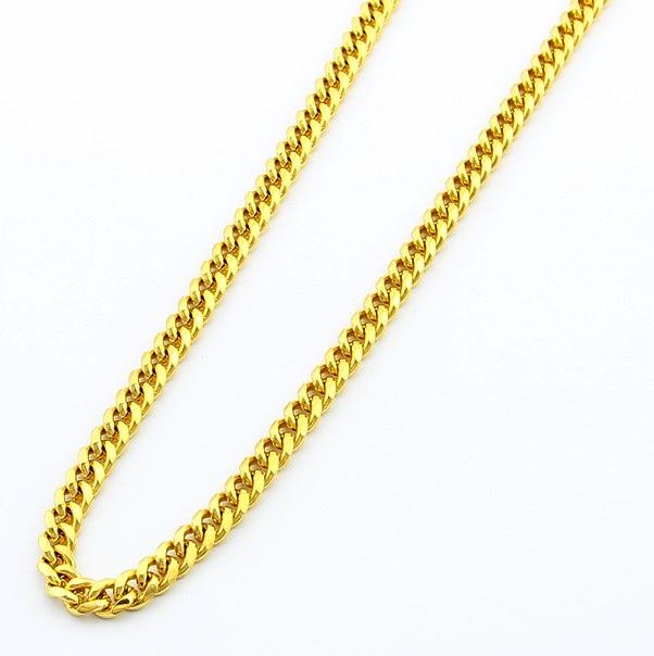 2018 2016 Fashion Jewelry 24k Gold Chain Gjh64 6 5mm Men S 24k
