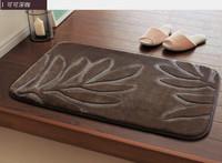 Bathroom absorbent mat doormat slip-resistant mats kitchen carpet 50*80cm free shipping