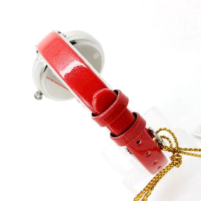 Леди женские Часы Япония Кварцевых Часов Лучший Моды Платье Браслет Группа Кожа Горный Хрусталь Разноцветные CZ Рим Девушка Подарочной Коробке 413