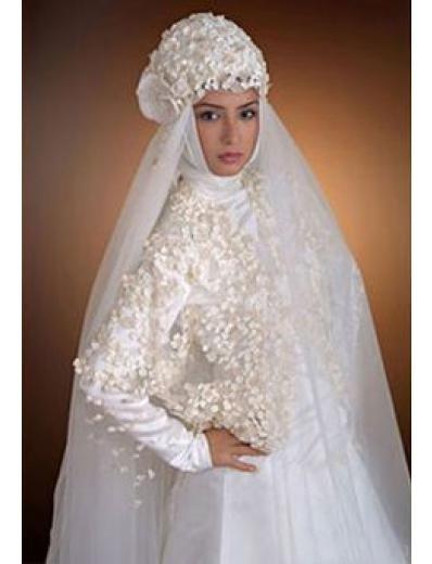 Arabisches Hochzeitskleid - Hochzeit-Trauung-Party