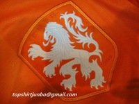 The Global Free shipp The 2014 World Cup the Netherlands home LEAK Holland jersey Top thai quality jersey Football suit
