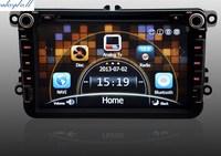 Автомобильный DVD плеер Waywell 8/vw MK5 PASSAT MK7 canbus SWC