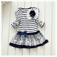 Платье для девочек Hot selling, 5 pieces/lot, 2012-2013 girls princess dress, child dress