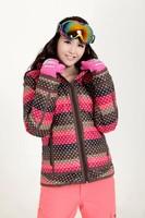 Женская куртка для лыжного спорта New womens skiing jackets winter sports ski coat women snow wear thermal snowboard sportswear skis clothing snowsuits