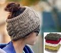 Женская шапка crownless