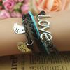 Кожаный браслет ,   FFF008