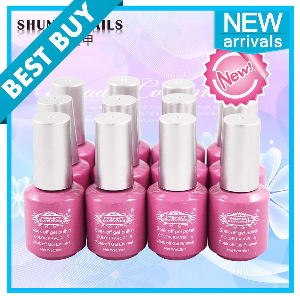 Free Shipping Gel Nail Polish (10 pcs Color Gel+1 ...