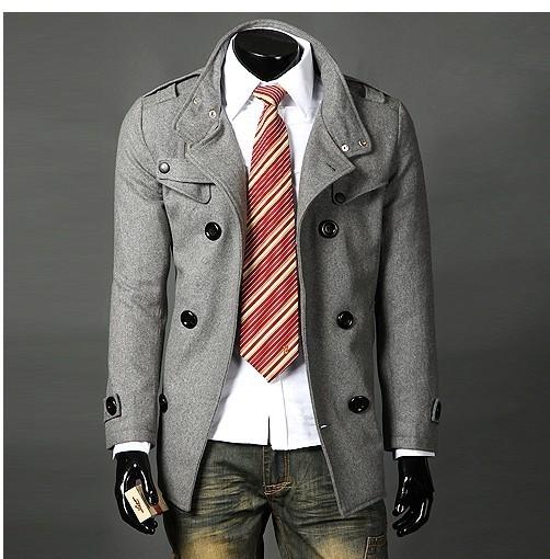 גברים מעיל מעיל של גברים בגדי האופנה חמה מכירת סתיו להאריך ימים יותר מעיל האביב חורף משלוח חינם סיטונאי קמעונאי צווארון מותג