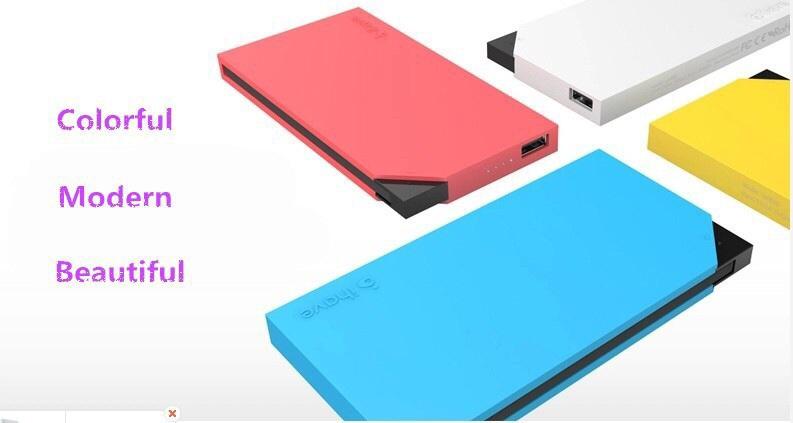ihave 6000mAh Dual USB Portable Charger Backup Bat...