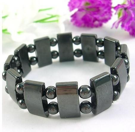 Magnetic Hematite Bracelet health care function of...