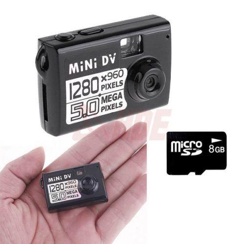 5MP HD Smallest Mini DV Camera Digital Video Recor...