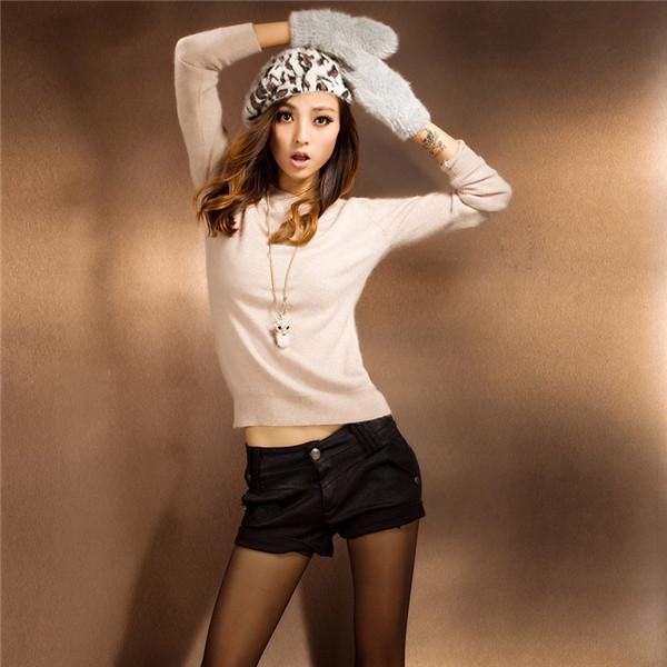 Sweaters 2014 Women Fashion Pure 100% Mink Cashmer...