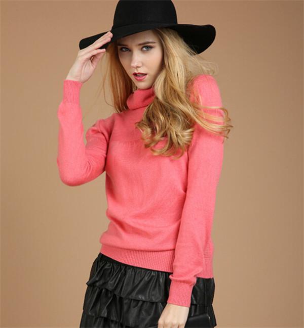 Sweaters 2014 Women Fashion Pure Cashmere Sweater ...