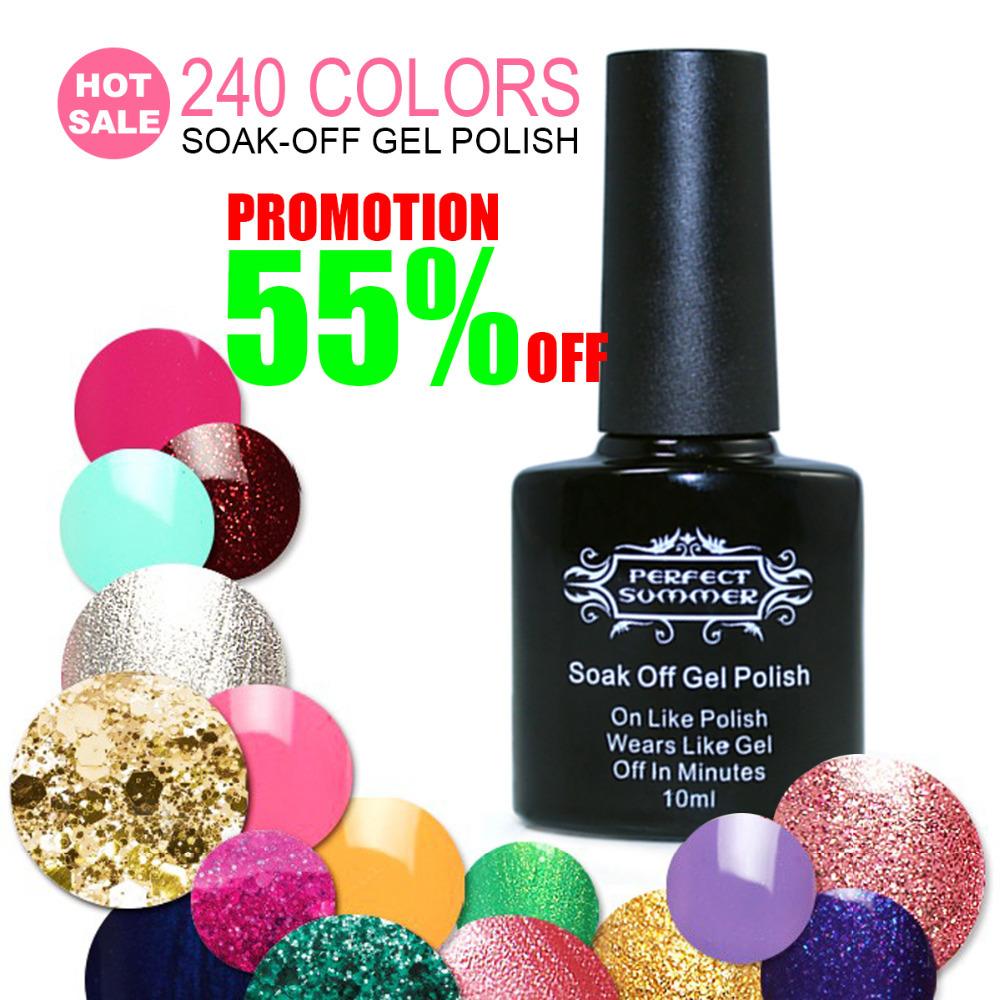 Big Promotion 55%OFF Nail Polish Gel 240 Fashion C...