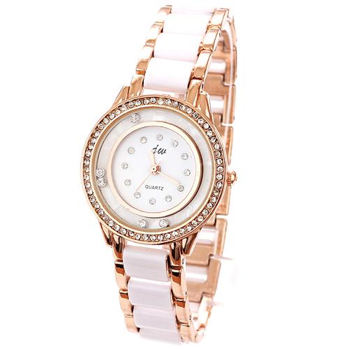 Wholesale Watch Round Dial Diamond Fashion Imitati...