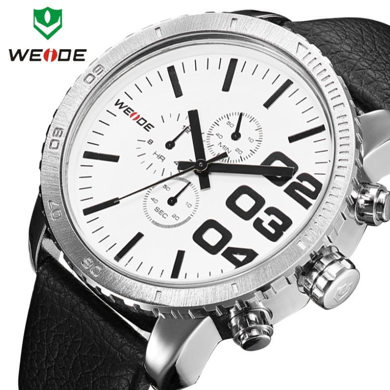 WEIDE Mens Japan Quartz Watch Military Watch Spor...