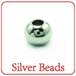 XD 925 sterling silver beads