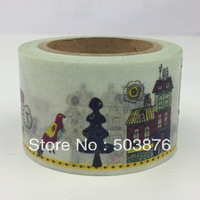 1 rolls/lot 30mm*10m Japanese Kawaki foto Picture Washi Gift Paper Tape
