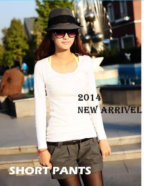 2014-New-CHIC-Sexy-OL-Shirt-With-Bow-Tie-Women-Fashion-Long-Sleeve-Slim-Cotton-Shirt