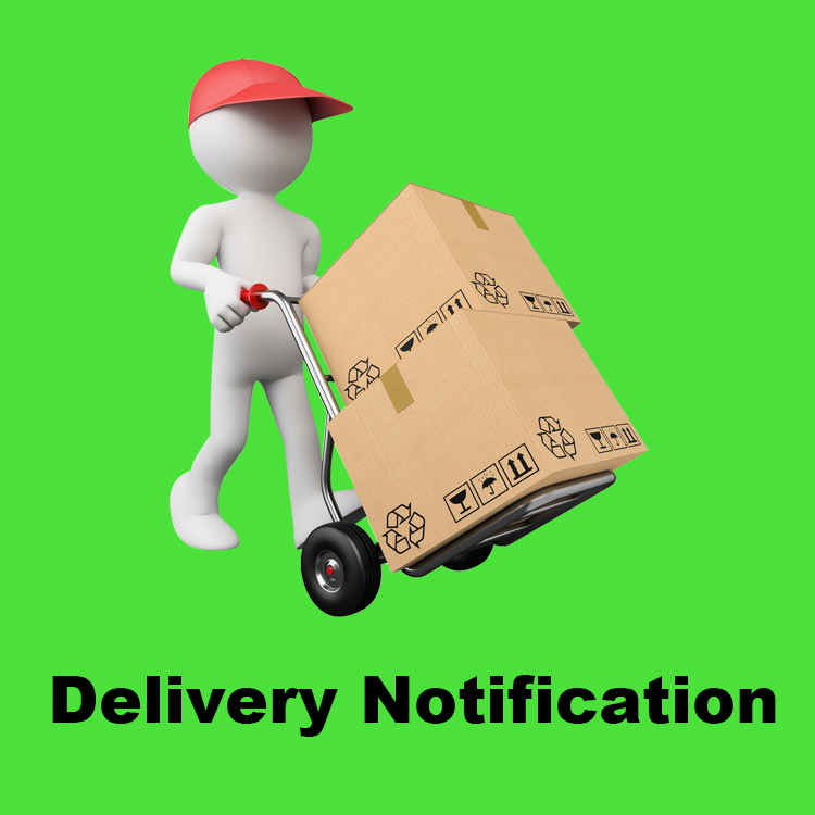 Delivery-Notification-Eternal-Team-After-service
