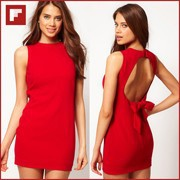 2013-Fashion-Woman-Summer-Dress-Red-Color-Asmmetrical-Design-Hollow-Out-Sexy-Woman-Dress