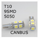 canbus-T10-9-5050