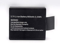 Original 3.7V Li-ion Battery Black for SJ4000 SJ 4000 Sport Camera batteria