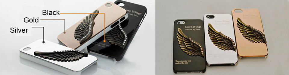 Angel wing Cool case for iphoe 5s 5