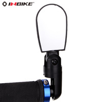 Inbike mini adjustable bicycle rear view mirror mountain bike after reflective mirror bicycle