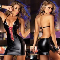 Two color into the DS server leather strap corset sexy babes pole dance costumes dance dress costumes
