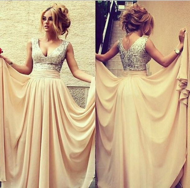 ebkxn3-l-610x610-dress-this-now-prom-prom-dress-glitter-dress-like-happy-cute-pretty-stunning-gorgeous-cool-fashion-style-styler-long-long-prom-dresses-beautiful-long-cream-dress-silver-sparkle