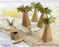Palm Tree Party Favor Boxes BETER-TH014 http://shop72795737.taobao.com