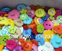 200pcs/SETS Mixed 10 design Resin Buttons sets Fit Sewing or Scrapbooking Knopf Bouto 9-20mm NK14041509