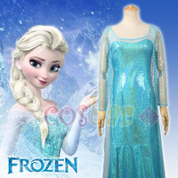 Frozen Coslay Costume Elsa's dress