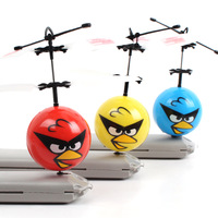 Cute little bird fly ball toy aircraft induction UFO children's toys bird Airplanes