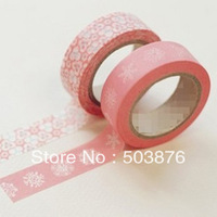 2 rolls/lot 15mm*10m Merry Christmas with exclusive style dinner gifts and hand-decorated paper tape necessary