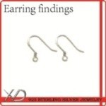 XD 925 sterling silver earring finding