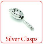 XD 925 sterling silver clasps