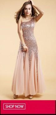 Yellow Evening Dress 20140317