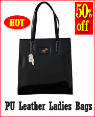 PU Leather Ladies Bags