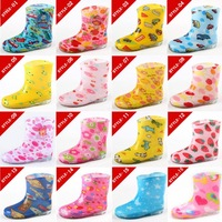 Slip-resistant child rain boots child rainboots crystal rainboots water shoes rain boots rain shoes
