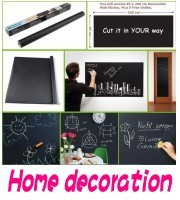 Free-Shipping-Cheap-Sale-Novelty-Item-Cut-At-Random-Chalk-Board-Blackboard-Sticker-Removable-Vinyl-Wall_conew1