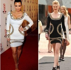 bandage dress celebrity dresses