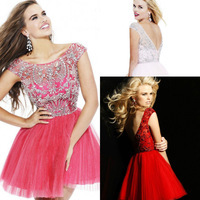 Free_Shipping_Elegant_Crystal_Beaded_Short_Cocktail_Dresses_With_Sleeves_Real_Images_2014_Women_Prom_Party_Dress_of_tulle_jpg_200x200