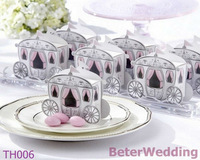 60pcs Enchanted Carriage Baby Shower Favor Boxes BETER-TH006 http://shop72795737.taobao.com